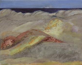 Gerlinde Amei Wöllmer - Atacama Acrylic & Mixed Media on Canvas, Mixed Media