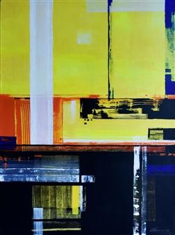 Abenamar Bauta Delgado - De la serie Atardeceres 3.1 Acrylic on Canvas, Paintings