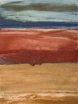 Israel Feldmann - Lava Layers Pigment on Canvas, Paintings