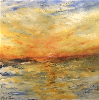 Christiane Palpant - Resilience Oil on Canvas, Paintings