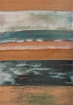 Israel Feldmann - Creation Pigment on Canvas, Paintings