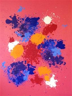 Mario España - Love Oil on Canvas, Paintings