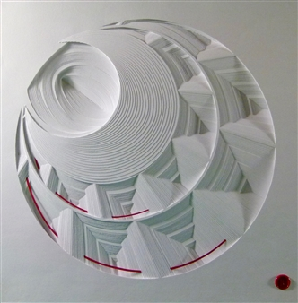 Jacky Cheng - Red Lantern Paper, Mixed Media