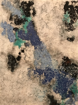 Mona Taqi - Clouds Acrylic on Canvas, Paintings