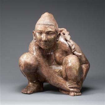 Susan Kadish - 3413 Stoneware, Sculpture