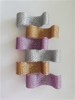 Andrea Collante - TS BAQ0519 Mixed Media Textile, Mixed Media