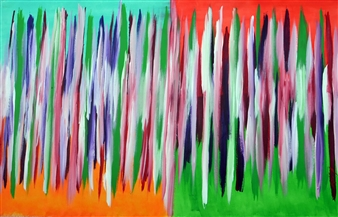 Carlos E. Porras M. - Jesolo I Acrylic on Canvas, Paintings