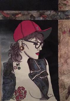 Sydnei SmithJordan - Untitled Mixed Media on Paper, Mixed Media