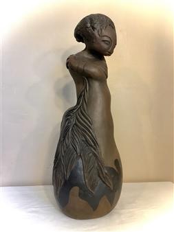 Nora Pineda - Spanish Dancer Stoneware, Sculpture