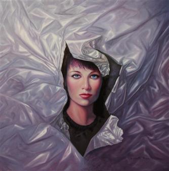 Rodolfo Regaño - Diana Oil on Canvas, Paintings
