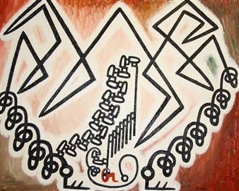Jose Pedro Alonso Miralles - El Infiel de la Balanza Oil on Canvas, Paintings
