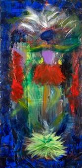 Jodi DeCrenza - Dancer Oil on Canvas, Paintings