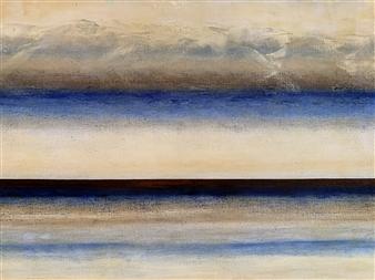 Marianne AuBuchon Devitt - Dusk Oil on Canvas, Paintings