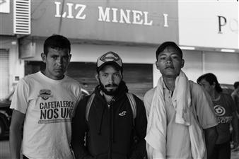Ada Luisa Trillo - The Migrant Caravan - Los Chicos de Chiapas Photograph on Fine Art Paper, Photography