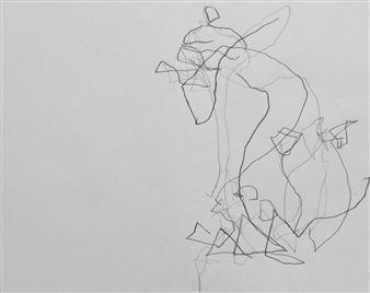 Marek Wasylewicz - VvA-L Pencil on Paper, Drawings