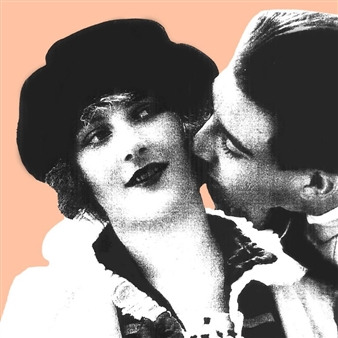 Wallace - The Kiss (B) Photographic Print on Fine Art Paper, Prints