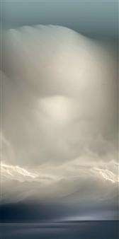 GK AUSTIN II - Super Critical Liquid No 5 Digital Archival Print on Aluminum, Digital Art