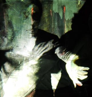 Gatscher<br /> von Burgsdorff - Werd ich zum Augenblicke sagen... Digital Photo Painting on AluDibond, Photography
