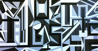 Christine Vella - It Just Is Acrylic on Canvas, Paintings