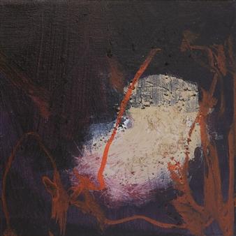 Gerlinde Amei Wöllmer - Escape Acrylic & Sand on Canvas, Mixed Media