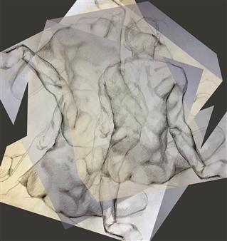 Stacey Dolen - Transcending Planar Space 1 Digital Print on Aluminum, Digital Art