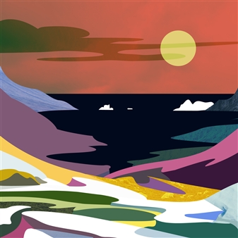 Phil Leith-Tetrault - Kalaallit Nunaat Digital Print on Paper, Prints