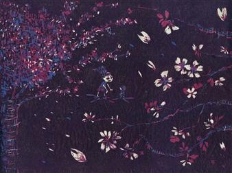 Satoco Yamamoto - Sakura Print on Paper, Prints