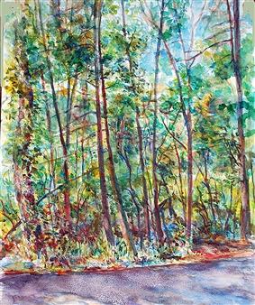 James Chisholm - Millbrook Area Watercolor on Paper, Paintings