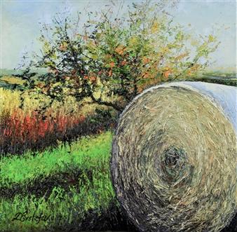 Deana Evstefeeva - Hayday Oil on Canvas, Paintings