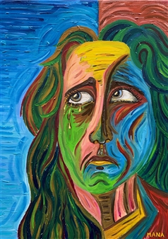 Mana - Mara Oil on Canvas, Paintings