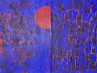 Ulrich T. Grabowski - Heat Acrylic on Canvas, Paintings