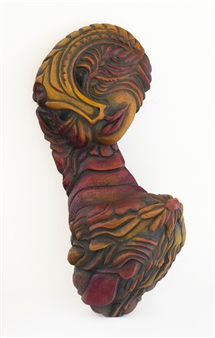 Nora Pineda - Sunbathing Stoneware, Sculpture