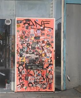 Daniel Loveridge - Grippos Dens Acrylic on Canvas, Paintings