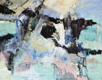 Annette Balsgaard - Eagle Acrylic on Canvas, Paintings