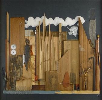Ellen Burnett - A January State of Mind Wood, Sculpture