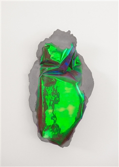 Mateusz von Motz - Prima Materia Energy Stone, Chromatic Purple Mixed Media, Sculpture