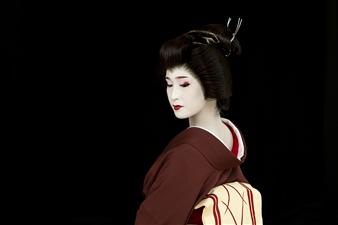 Safaa Kagan - Geisha in Kyoto Archival Pigment Print, Photography