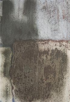 Israel Feldmann - Reflection 2 Pigment on Plywood, Paintings