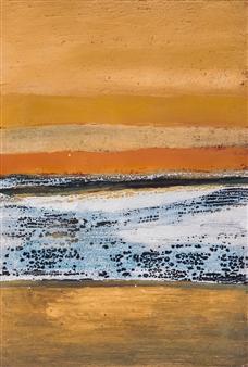 Israel Feldmann - Burning Wind Pigment on Canvas, Paintings