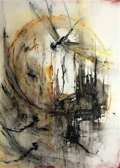 Dana Ingesson - Will the Circle Be Unbroken Watercolor on Paper, Paintings