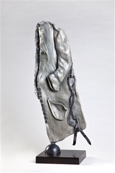 Anita Birkenfeld - Grey Bronze, Sculpture