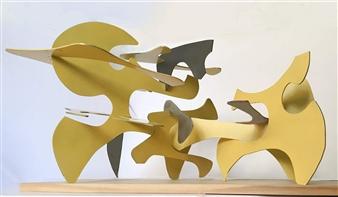Joanne Syrop - Don't Let Go Steel, Sculpture