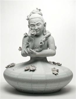 Susan Kadish - 5817 Stoneware, Sculpture