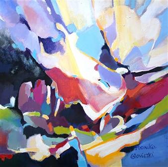 Monika Gloviczki - King of Fools Acrylic on Canvas, Paintings