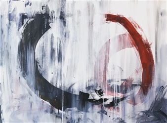 KEO - Passage I Acrylic & Ink on Canvas, Paintings