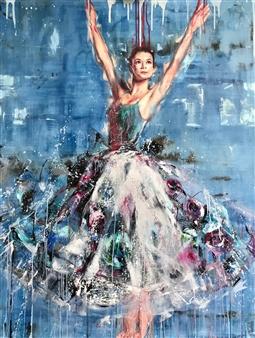 Daniella Queirolo - Eva Acrylic & Oil on Canvas, Paintings