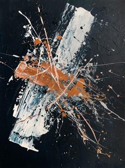 Josefina De León - Espacio Sideral Acrylic on Canvas, Paintings