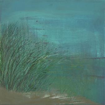 Gerlinde Amei Wöllmer - Ostsee Acrylic on Canvas, Paintings