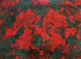 Maribel Matthews - Where is Spring Acrylic & Oil on Canvas, Paintings