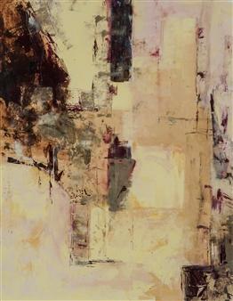 Sandra Mueller-Dick - Nature's Balance I Acrylic on Paper, Paintings